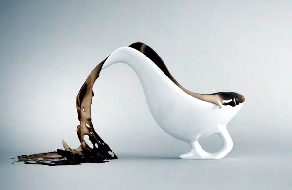 Fresh chair design in porcelain look przelany of for Stuhl zebra design