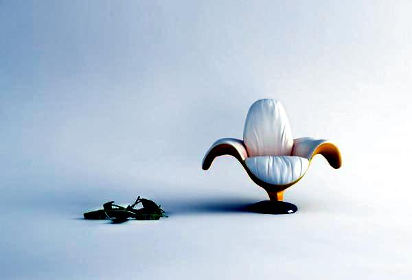 "Fresh chair design in porcelain-look - ""Przelany"" of Wamhouse"