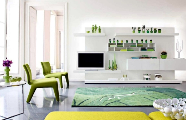 green and white living room ideas fresh colors in the living room 20 living ideas and tips 24695