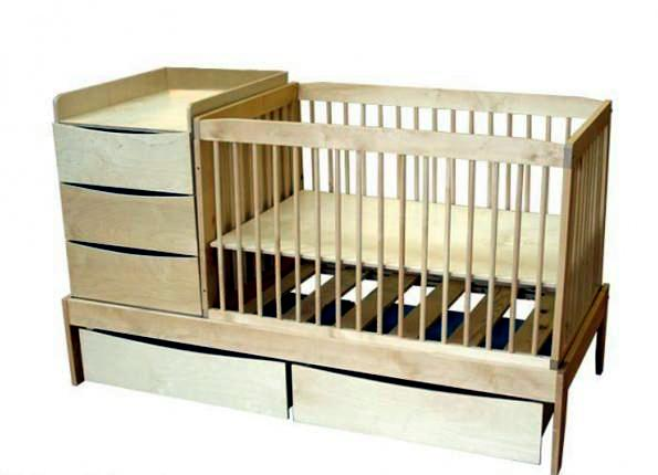 Functional equipment and furniture for the nursery-Compact concept