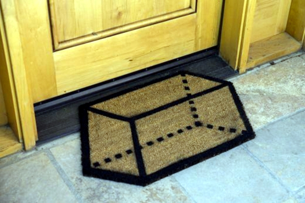 Funny Doormats do it yourself - decorating ideas for the house entrance