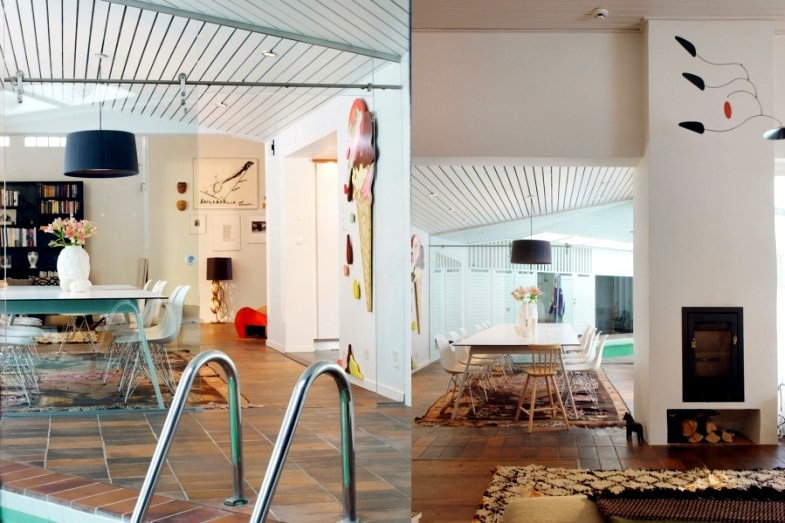 Furnished by interior designer interior Myrica Bergqvist
