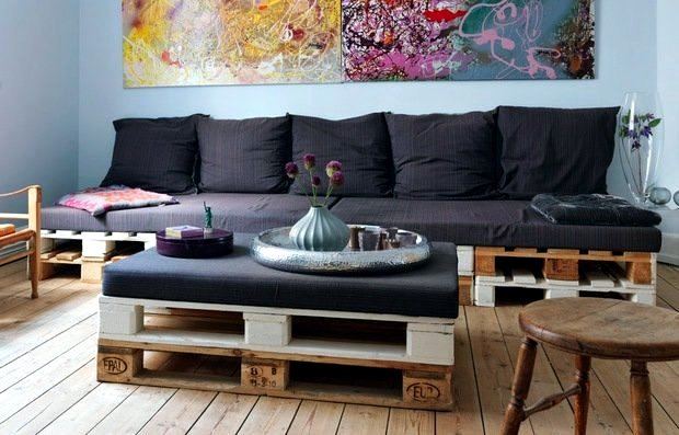 Furniture Made Of Wood Pallets Euro Yourself Ideas For