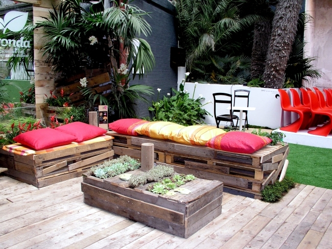 Furniture made of wood pallets euro-yourself ideas for home and garden