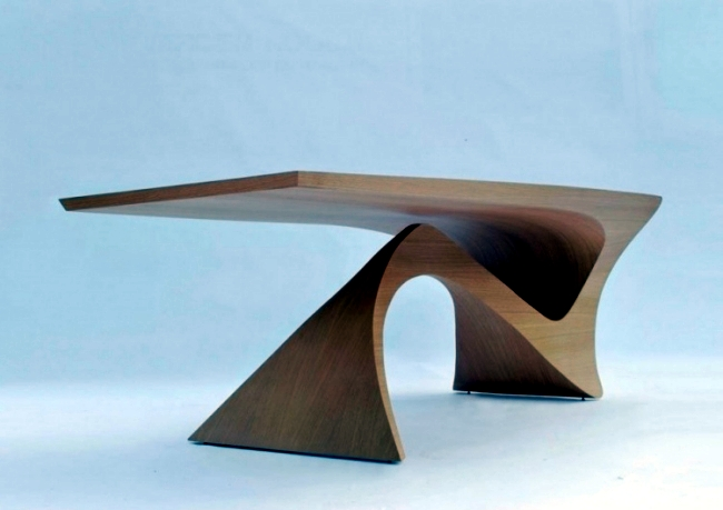 Futuristic wooden table design of the series Form Follows  : futuristic wooden table design of the series form follows function 2 2112625923 from www.ofdesign.net size 650 x 459 jpeg 143kB