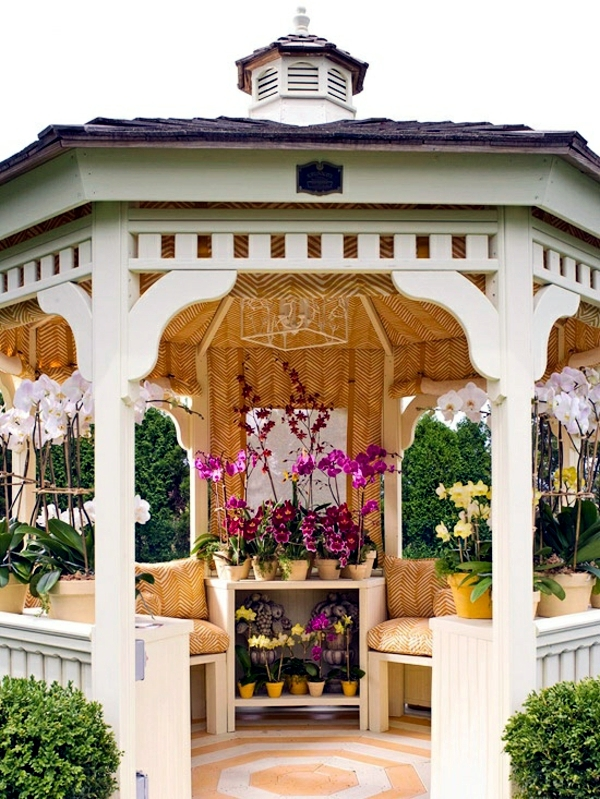 Gazebo - the many features of the gazebo