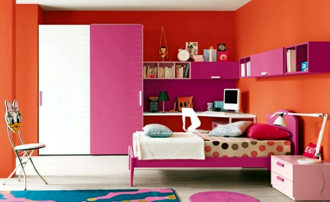 Girls make full room – 26 ideas, furniture and themes | Interior ...