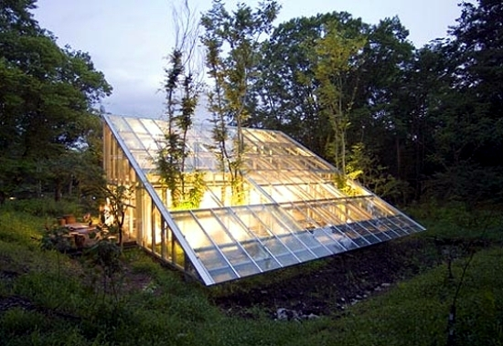 Glass greenhouse build - inspirational design ideas for gardeners