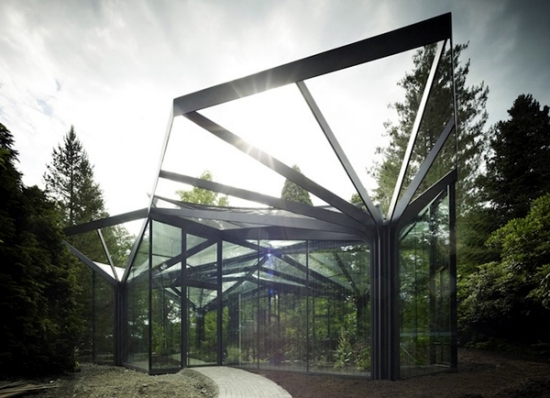 Glass Greenhouse Build   Inspirational Design Ideas For Gardeners