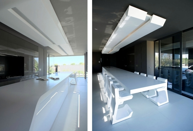 Gloss lacquered kitchens from A-Cero – Exciting design ...