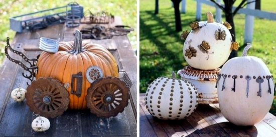 great decoration crafts from scrap creative ideas for halloween pumpkins