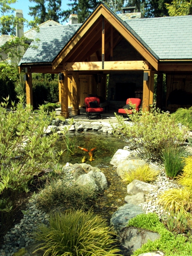 Guide for your perfect Koi pond in various garden styles