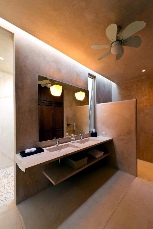 Hacienda with modern minimalist design in Yucatan, Mexico | Interior on