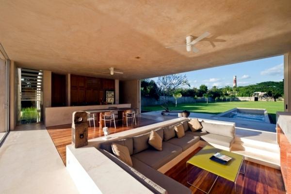 hacienda with modern minimalist design in yucatan mexico interior rh ofdesign net