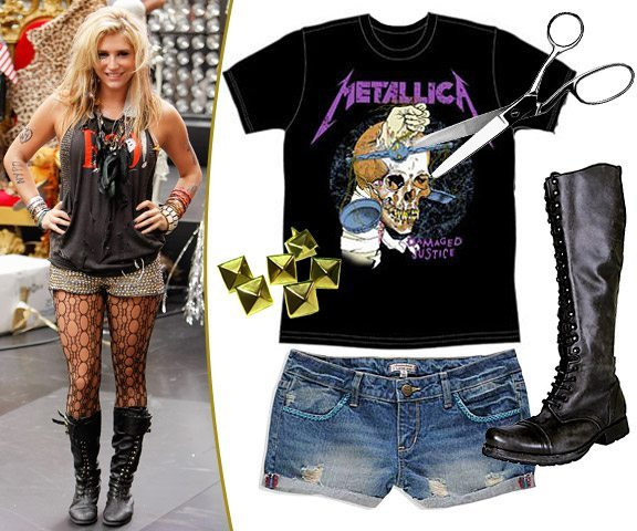 Halloween costumes and make like rock stars and heavy metal bands