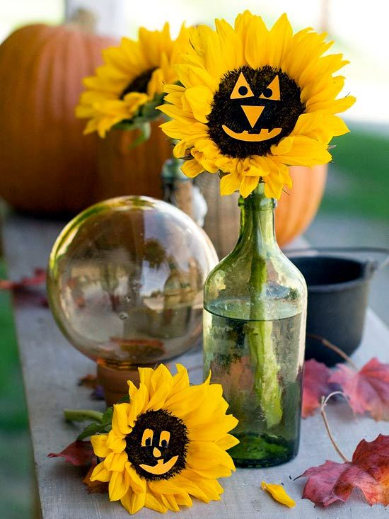 Halloween decoration craft - 30 cool ideas for an atmospheric decor