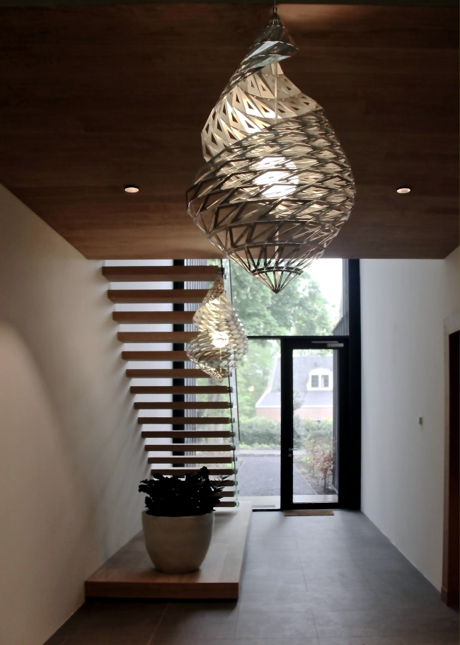 Helio pendant light design from the heliocentric world view inspired