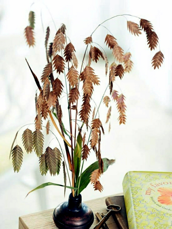 Herbstdeko make yourself - 26 effective ideas with natural materials