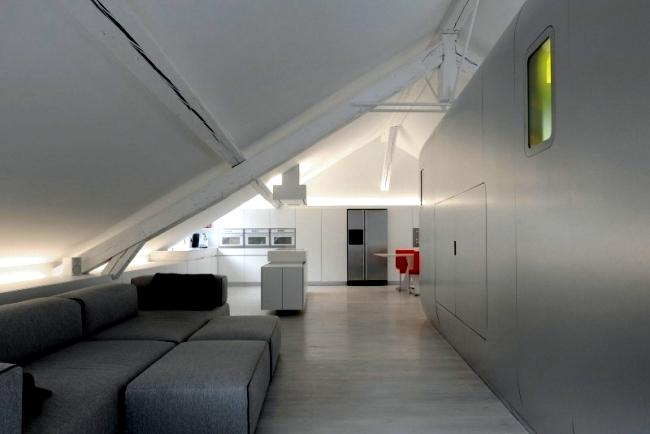 Hi Tech Loft Wohnung Loft Dethier Architecture | Möbelideen