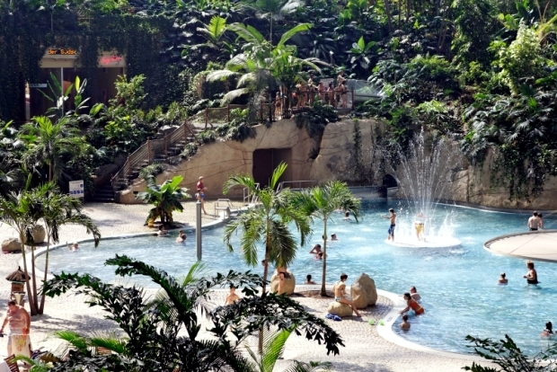 "Holiday event of the year - water park ""Tropical Islands"""