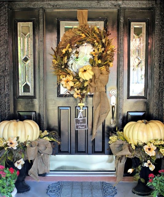 Hot autumn decoration for the input-fall match welcome