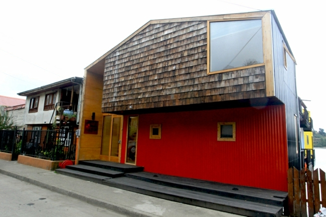 Hotel in Chile in the traditional South American style