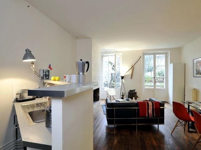 amenagement small Parisian apartment
