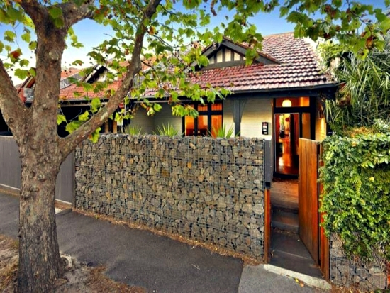 Ideas for gabion practical designs as decorative elements in the garden