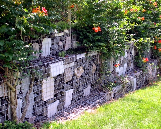 Ideas For Gabion Practical Designs As Decorative Elements In