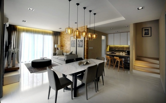 home lights installation and style contemporary over dining interiors design pendant table