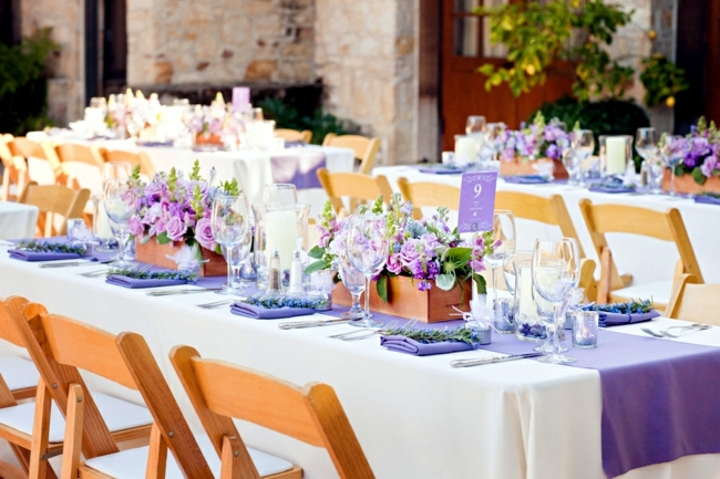 Ideas for summer wedding table decoration with colorful - Decoration de table idees ...