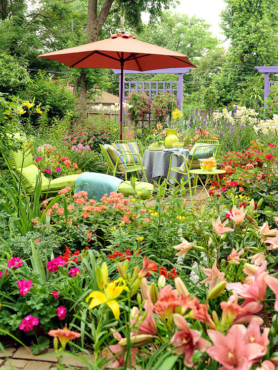 Ideas for the Garden - Plants and flowers in a rainbow of colors