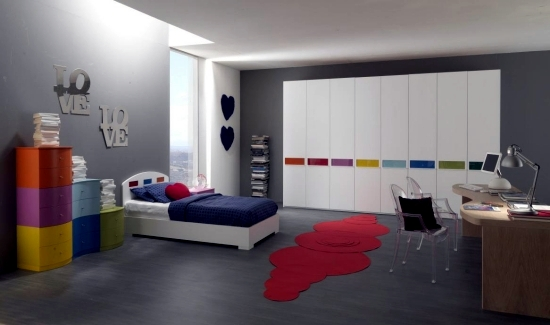 Ideas for wall decoration in teenagers' rooms, the trend is in the