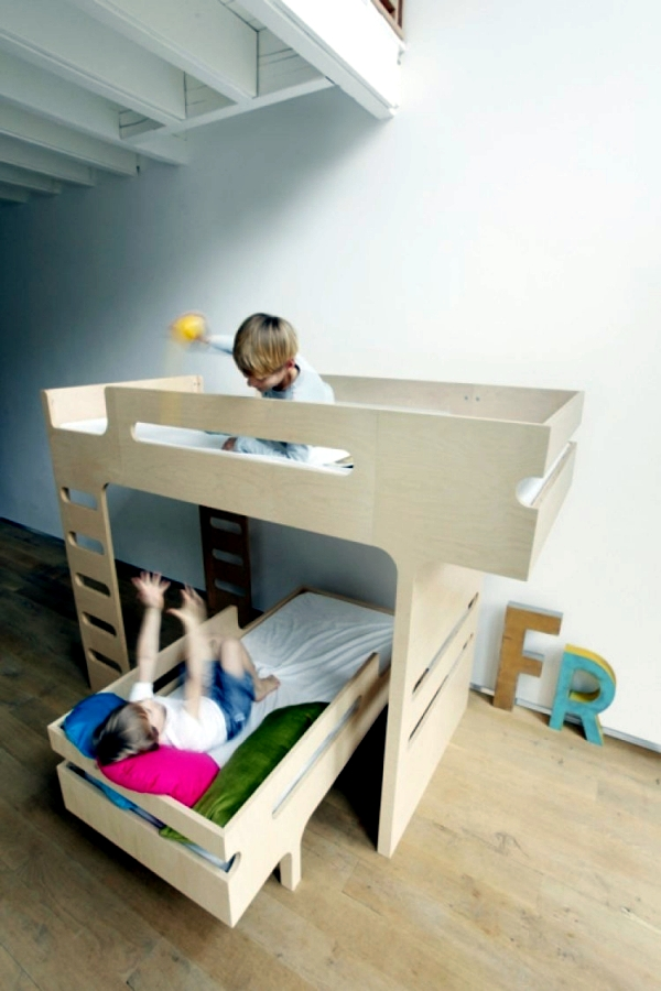 If siblings share a room - The modern bunk bed R & R