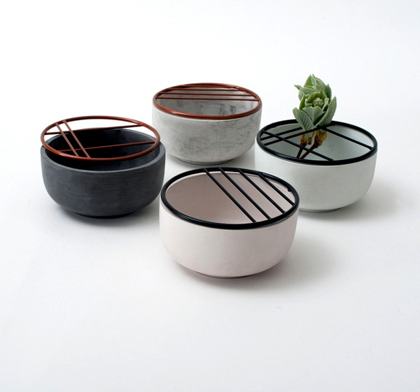 Ikebana, the art and the aqueduct system characterize modern planters