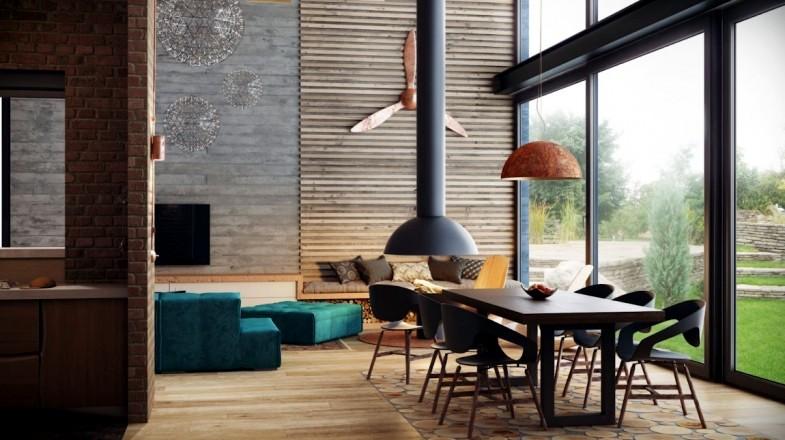 loft interior Photo