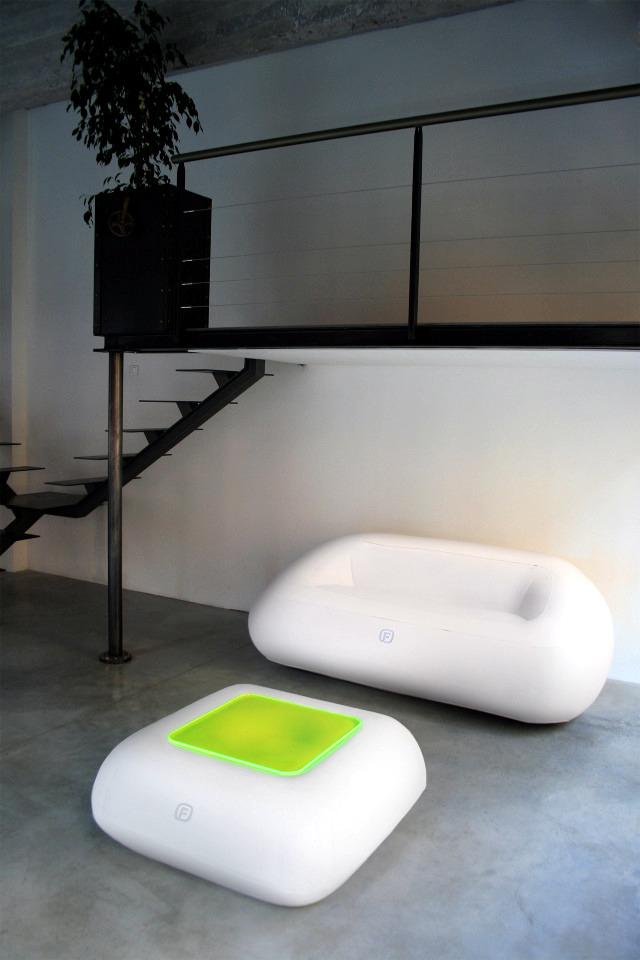 Aufblasbare Mobel Led Beleuchtung Fugu