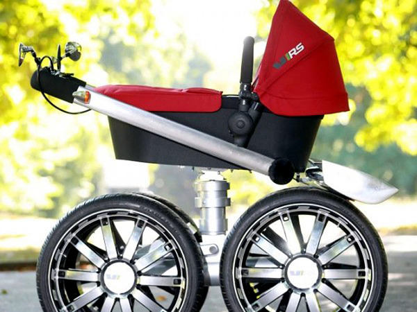 Innovative stroller design - buggy with car seat