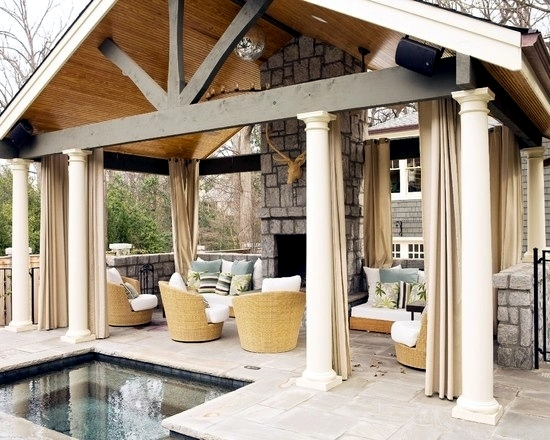 Install The Hot Tub In The Garden 25 Ideas To Make The Patio Interior Design Ideas Ofdesign