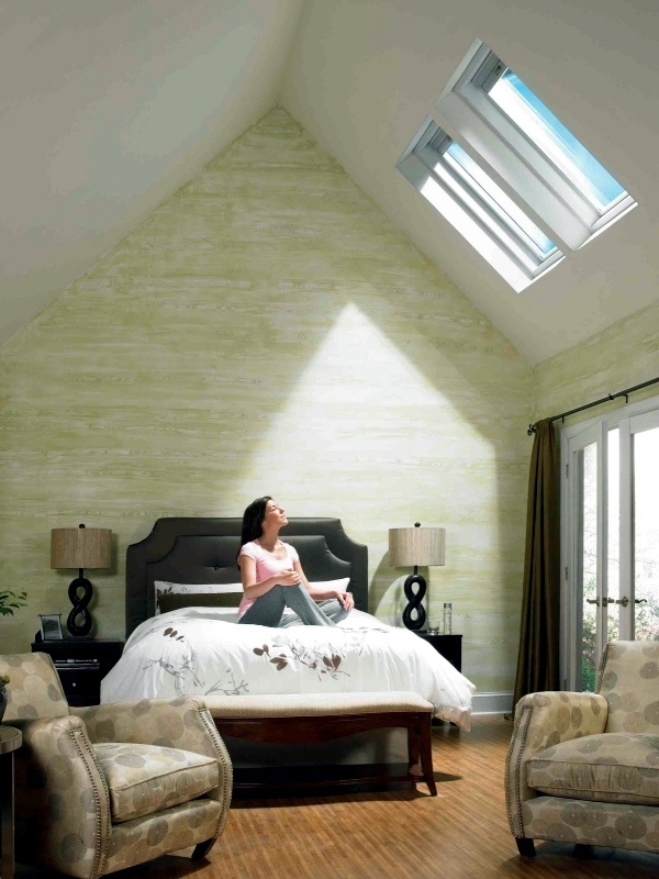 Installing skylights and the stars look advantages and for Interior decoration living room roof