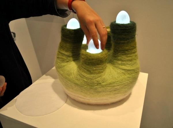 Interactive light sculpture by Tomomi Sayuda plays beautiful sounds
