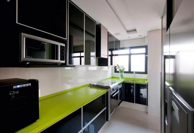 Interior design with color - stylish apartment of Brunete Fraccaroli