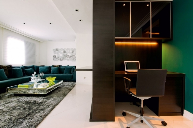 Interior design with color - stylish apartment of Brunete Fraccaroli