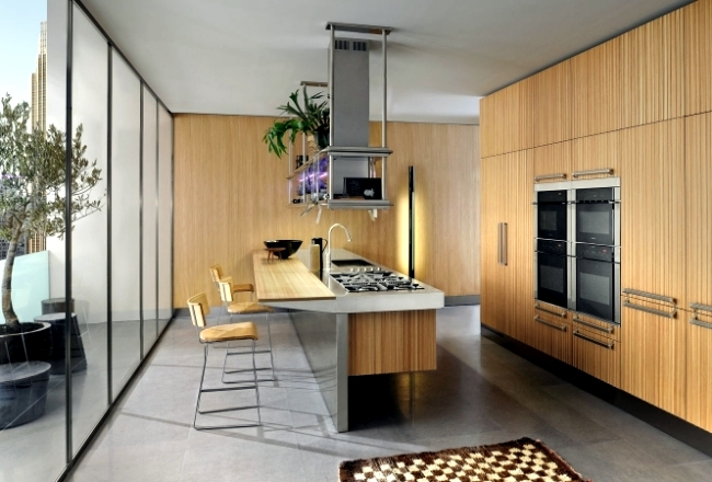 Italian kitchens of distinction - the furniture ranges from Arclinea