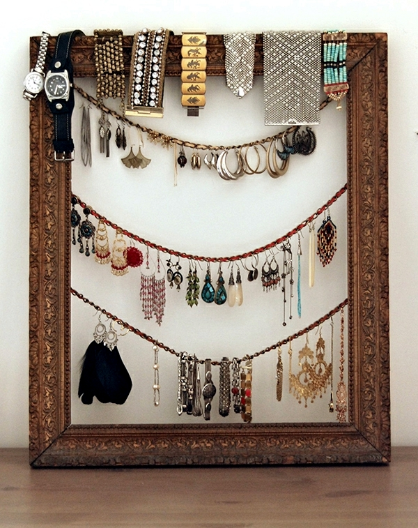 Jewellery Storage do it yourself - alternatives to jewelry box