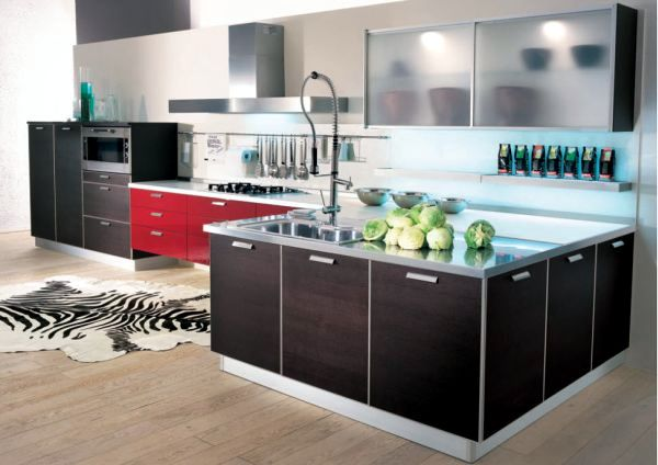 Kitchen glass fronts for a high quality modern look of your kitchen