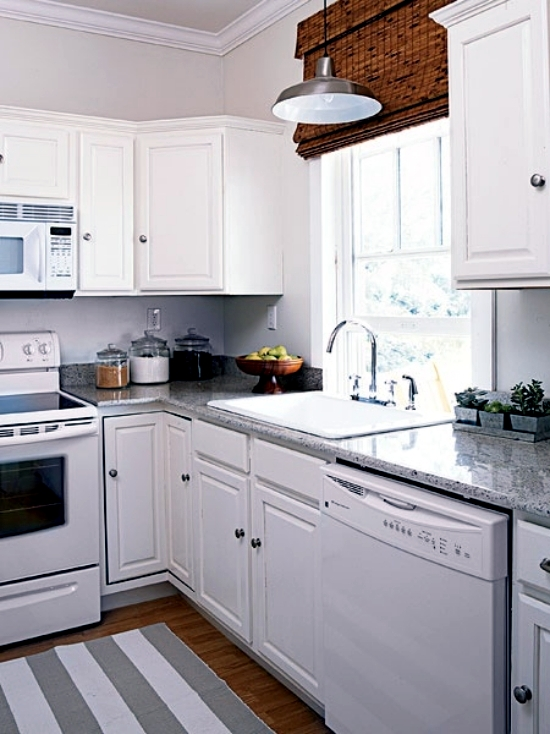 Kitchen granite worktops - 16 design ideas for the kitchen