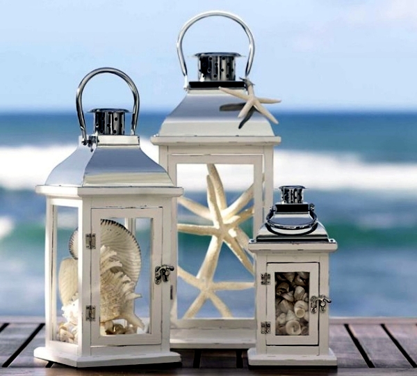 Summer Decorating Ideas lanterns with maritime flair – summer decoration ideas for home