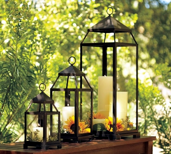 Lanterns with maritime flair summer decoration ideas for