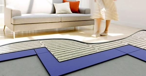 Lay Underfloor Heating Types Costs Advantages And Disadvantages - Cost of installing underfloor heating